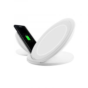 Chargeur Sans Fil à Induction Qi Blanc Socle Dock Station Pour Iphone Xs/Xs Max/Xr/X/8/8 Plus Samsung Galaxy S9/S9+/S8+/Note 8 & 9/S7 Edge