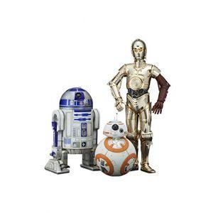 Kotobukiya Star Wars Episode VII Pack 3 Statuettes PVC Artfx 1/10 C-3PO & R2-D2 & BB-8