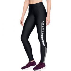 Under Armour HG Graphic Pantalon Femme, noir, taille XS