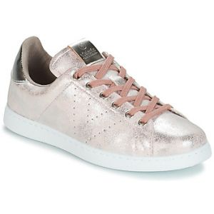 Victoria Baskets basses TENIS METALIZADO rose - Taille 37