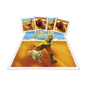 Tintin Désert - Housse de couette et taie (200 x 200 cm)
