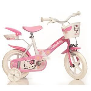 Vélo fille Hello Kitty 12''