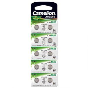 Perel Pile bouton alcaline lr44 1.5v-125mah (10pcs/bl) -