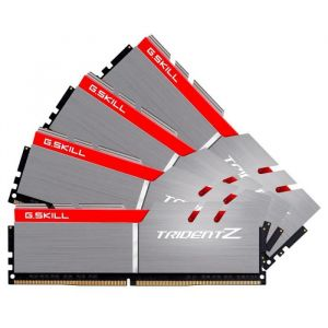 G.Skill Trident Z 32 Go (4x 8 Go) DDR4 3866 MHz CL18 Gris / rouge