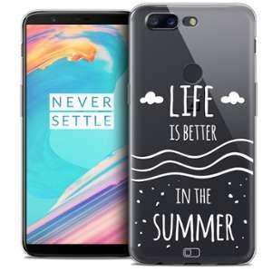 CaseInk Coque OnePlus 5T (6 ) Extra Fine Summer Life's Better
