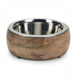 Designed by Lotte Gamelle pour chiens DBL Mandira en bois, 16,5 cm - Wood/SG - Taille 16,5
