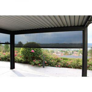 Green Outside Pergola Bioclimatique EVENT PREMIUM 4x3m, électrique, éclairage LED intégré. Qualité PRO