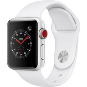 Apple Watch 38MM Alu Argent / Blanc Series 3 Cell