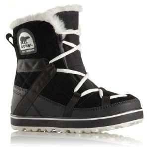 Sorel | GLACY%u2122 EXPLORER SHORTIE bottes d'hiver femme | noir-blanc