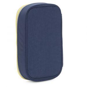 Kipling Trousse 50 Pens Blue Thunder bleu