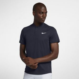 Nike Polo de tennis Court Dri-FIT pour Homme - Bleu - Taille S - Homme