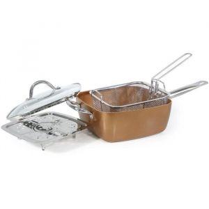 Imf 9022 Set friture 4 en 1 Siena - Tous feux dont induction - Fond spécial vitro-induction