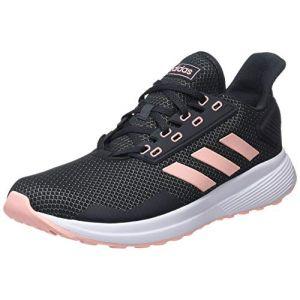 Adidas Duramo 9, Chaussures de Fitness Femme, Gris (Carbon/Narcla/Ftwbla 000), 37 1/3 EU