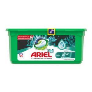 Ariel Dosettes de lessive 3 en 1 touche de lenor unstoppables