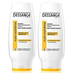 Jacques Dessange Nutri extrême - Après-shampooing crème anti-dessèchement pour cheveux secs ou desséchés
