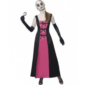 Déguisement poupée visage recousu Halloween