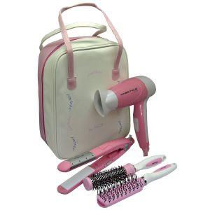 Akor HD5230 - Coffret beauté : sèche cheveux, lisseur et brosses
