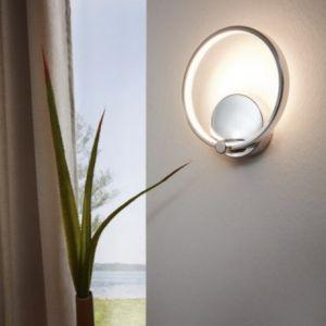 Eglo Applique murale LASANA LED Chrome, 1 lumière - Moderne - Intérieur - LASANA