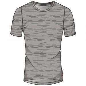 Odlo T shirt manches courtes natural 100 merino homme gris s
