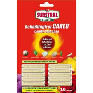 Celaflor Careo Lot de 10 bâtonnets Anti parasites