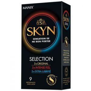 Manix Skyn Sélection - 9 préservatifs sans latex