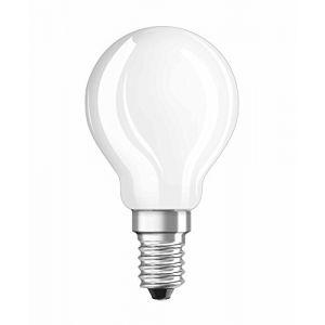 Osram Ampoule sphérique LED 5W = 470Lm (équiv 40W) E14 2700K