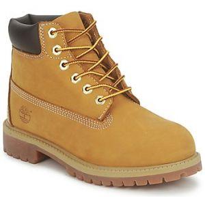 Timberland 6 Classic 6 In Premium Wp Boot, Bottes Classiques Mixte Enfant,Jaune (Wheat yellow), 30.5 EU