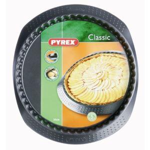 Pyrex 4936149 - Moule à tarte Classic 30 cm en métal