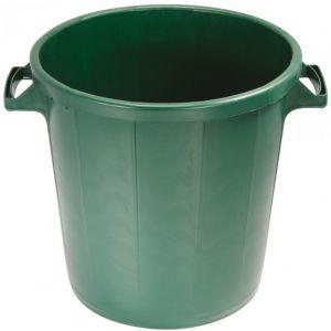 Eda Plastiques Poubelle d'extérieur sans couvercle 30 L vert Poubelle plastique, Conteneur, Couvercle EDA