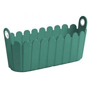 Emsa Jardiniere LANDHAUS 40 x 16 cm - Vert turquoise