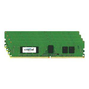 Crucial CT4K4G4RFS8213 - Barrette mémoire 16 Go (4 x 4 Go) DDR4 2133 MHz CL15 ECC Registered SR X8 288 pins