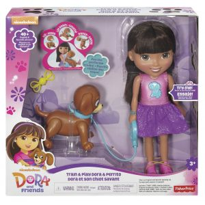 Fisher-Price Dora et son chiot savant