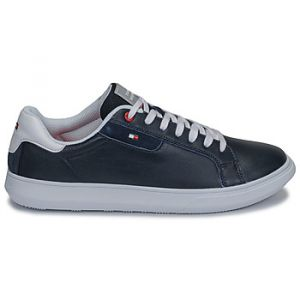 Tommy Hilfiger Baskets basses ESSENTIAL LEATHER CUPSOLE bleu - Taille 40,41,42,43,44,45