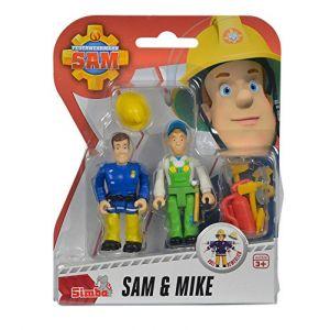 Simba Toys Pack de deux figurines Sam le pompier (modèles aléatoires)