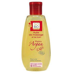 So'Bio Étic Précieux Argan - Huile de bain et massage