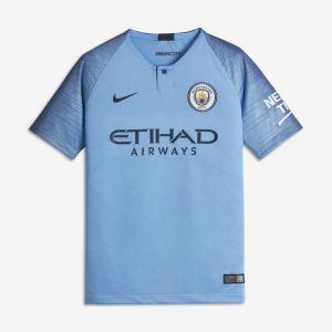 Nike Maillot de football 2018/19 Manchester City FC Stadium Home pour Enfant plus âgé - Bleu Taille XL