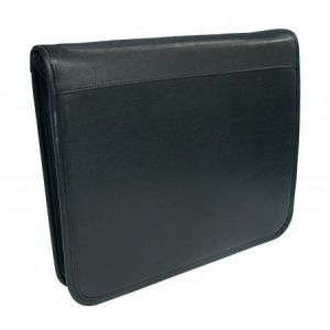 Wedo 58 1101 - Conférencier College, format A4, simili cuir lisse, noir