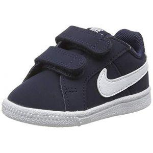 Nike Chaussure Court Royale pour Bébé et Petit enfant - Bleu - Taille 19.5 - Unisex