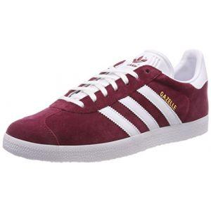 Adidas Gazelle, Chaussures de Gymnastique Homme, Rouge (Collegiate Burgundy/FTWR White/