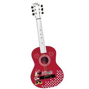 Guitare en bois Minnie 75 cm