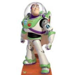 Figurine en carton taille réelle Toy Story Buzz l'éclair