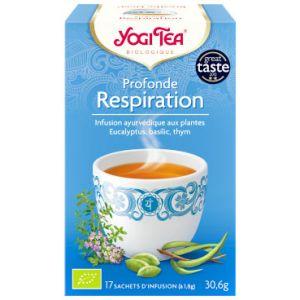 Yogi Tea Thé Ayurvédique Respiration - Boîte de 17 sachets