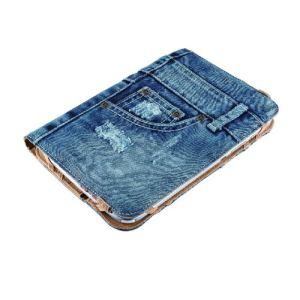 "Trust 19481 - Etui Jeans Folio Stand pour tablette 7-8"""