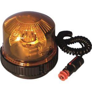 Top Car Gyrophare sodiflash halogène 12/24V 23W magnétique avec ventouse et câble 3.5 m