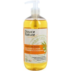 Douce Nature Shampooing douche fleur d'oranger 500ml