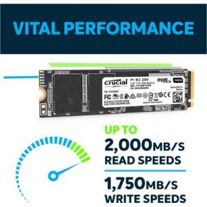 Crucial P1 M.2 PCIe NVMe 1 To