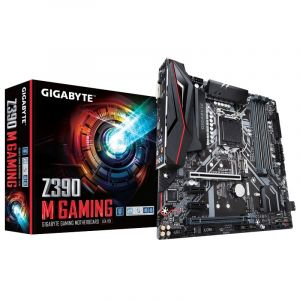GigaByte Carte mère Z390 M GAMING Socket Intel 1151v2 Format Micro-ATX Chipset de la carte mère Intel Z390