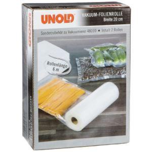 Unold 4801004 - Lot de 2 rouleaux de film pour machine à emballer sous vide