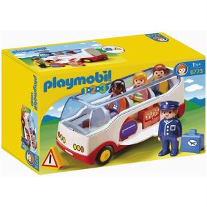 Playmobil 6773 - 1.2.3 : Autocar de voyage