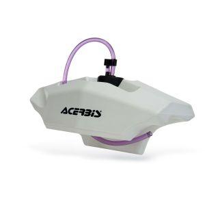 Acerbis Réservoir auxiliaire de guidon 2,1L blanc